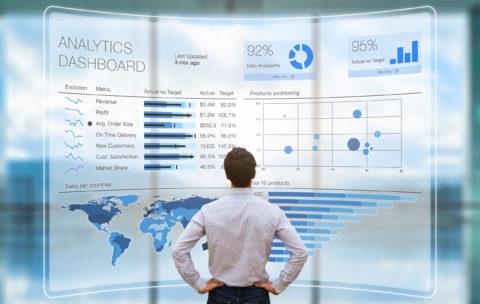 Businessman,Analyzing,A,Business,Analytics,(ba),Or,Intelligence,(bi),Dashboard